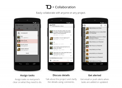 Todoist Next Android Collaboration