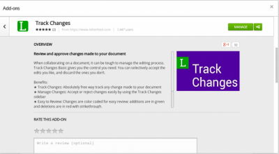 Track Changes by Letter Feed
