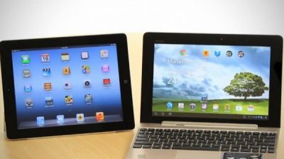 Android Tablet versus iPad